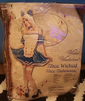 Wicked Alice in Wonderland Costume - Large