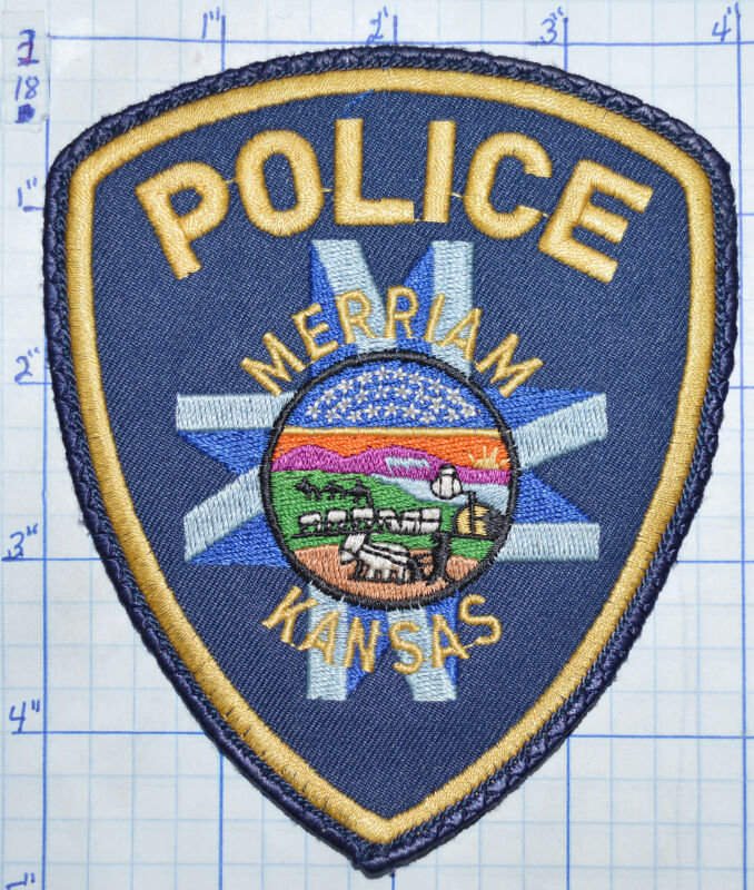 KANSAS, MERRIAM POLICE DEPT VINTAGE PATCH