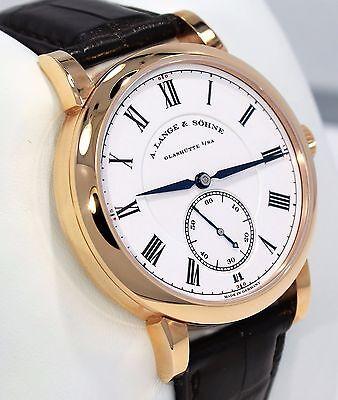 A. Lange & Sohne Richard Lange 260.032 18K Rose Gold Very Limited B/PAPERS MINT!