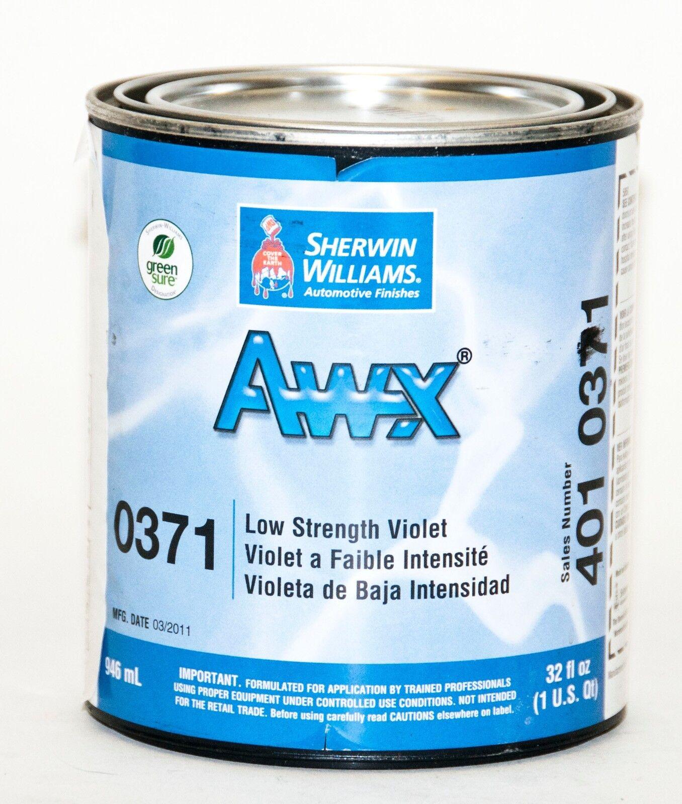 Sherwin Williams Awx Performance Plus Basecoat, Quart 32