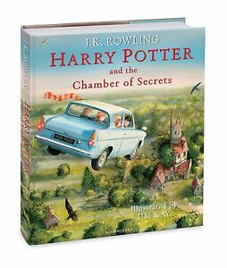 Harry Potter and the Chamber of Secrets: Illustrated Edition Hardcover Pre-Order