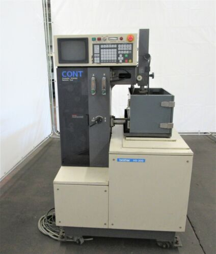 Brother HS-300 Traveling Wire Type EDM, ID# E-016