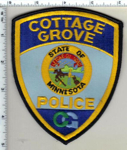 Cottage Grove Police (Minnesota)  Shoulder Patch  - new from 1991