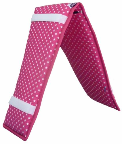 """SOFT COTTON ROLLER LUNGE PAD  35""""x 8"""" INCHES WITH 4 SELF FASTENING  GRIPS"""