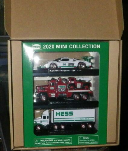 2020 Mini Hess Trucks Collection *BRAND NEW, IN HAND*