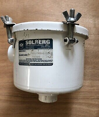 Used Solberg Hdlpsg848 125hc Psg848 Filter Housing Vacuum
