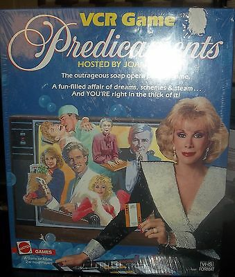 Mattel Predicaments Soap Opera Parody Game Hosted By Joan Rivers Adults