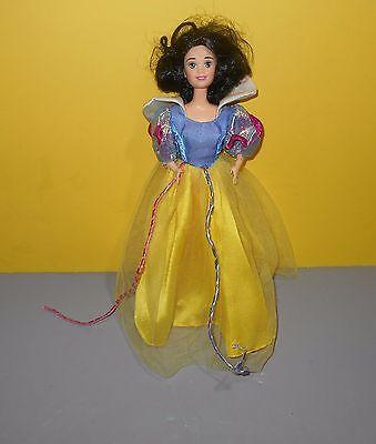 "Mattel Classic Disney Princess Snow White Shimmer Dress Outfit 12"" Barbie Doll"