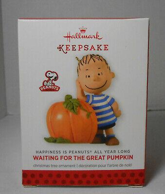 2014 Hallmark Linus Waiting for the Great Pumpkin Halloween Christmas Ornament