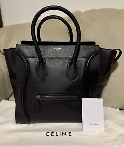 Celine Luggage Black *Authentic*