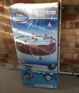 Bestway Rattan above ground pool 3.6m x 0.9m