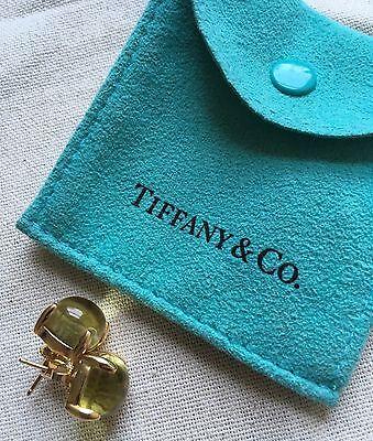 Tiffany & Co. Citrine Paloma Picasso Sugar Stack Citrine Stud Earrings Stacks