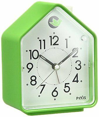 Seiko Clock Alarm Clock Nature Sound Analog Switchable Alarm