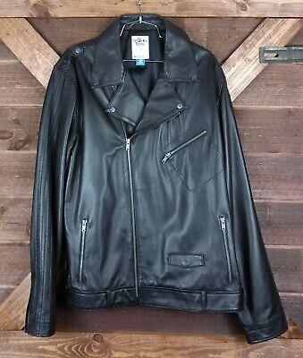 2009 adidas ORIGINALS ObyO ALYASHA OWERKA-MOORE 50S LEATHER BIKER JACKET LRG EC - 50s Leather Biker Jacket