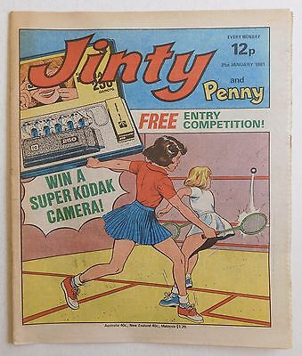 JINTY & PENNY Comic - 31st January 1981