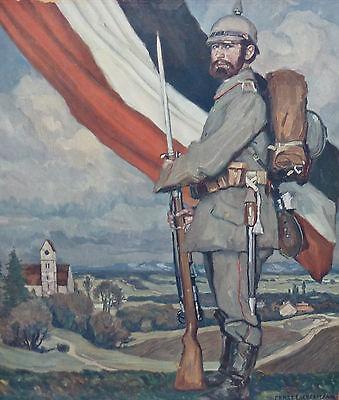 Königreich Bayern Militaria Soldat mit Pickelhaube Ernst Liebermann München 1916