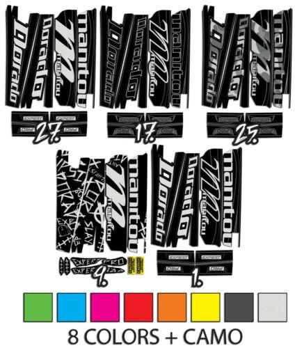 Manitou Dorado custom decals 5 designs 10 colors