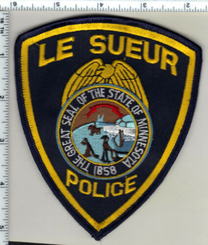 Le Sueur Police (Minnesota) Shoulder Patch new from 1990