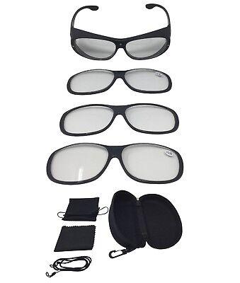 e Lupenbrille Zauberbrille MAGNETO EDITION 500% Vergrößerung (Vergrößerung Brille)