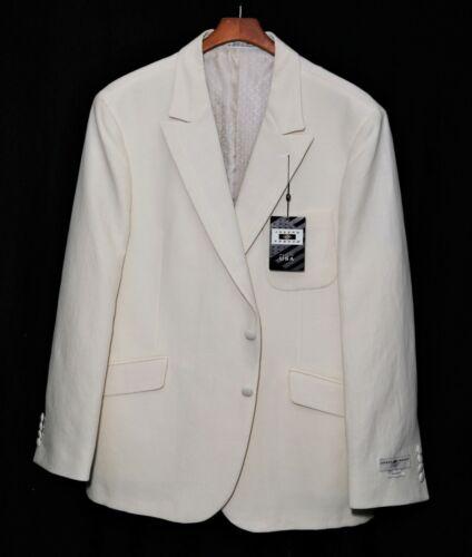 NWT-New_$895_Cotton & Linen_JOSEPH ABBOUD Dinner-Lounge Jacket_Slim Fit_size 46S