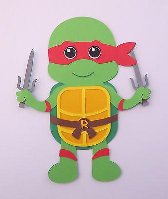 Ninja Turtle Rafael (TMNT Ninja Turtle Rafael Paper Doll Paper Die Cut Scrapbook)