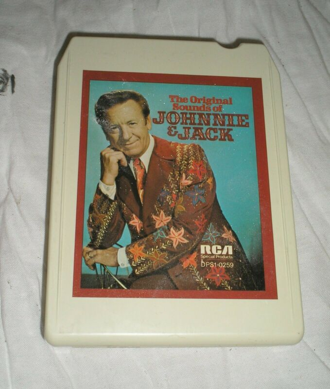 Johnnie And Jack - Original Sounds Of Johnnie And Jack - 8 Eight Track Tape