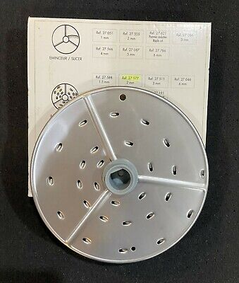 Robot Coupe Rg2 27577 Grater Disc New In Box