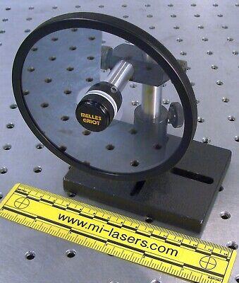 Melles Griot 03fdc003 Optical Variable Neutral Density Filter Mount Laser