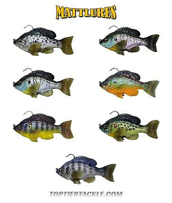 Mattlures Ultimate Hammer Tail Bluegill Swimbait - Select Color - Ultimate Hammer