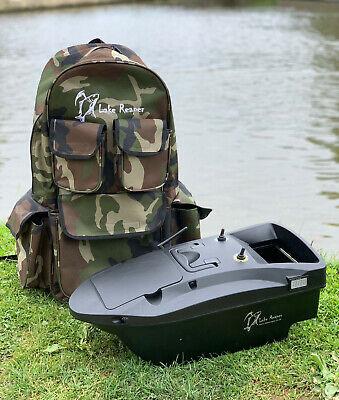 BRAND NEW CARP BAIT BOAT LAKE REAPER BAIT BOAT RUCKSACK BAG / HOLDER LARGE