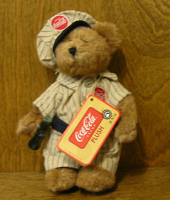 """Boyds Ornament #919944 DALE 6"""", NEW w/ tags From Retail Store COCA COLA Plush"""