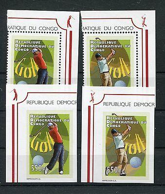 Kongo ( Kinshasa ) 2122/23 A + B postfrisch / Golf .......................1/1904