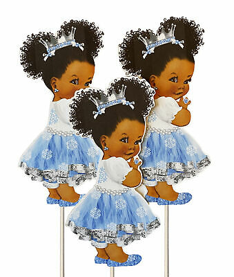 Winter Baby Shower Decorations (Winter Birthday Princess Centerpieces Baby Shower Table)