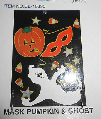 Fantasy Factory Ghost Pumpkin Halloween Flag  28
