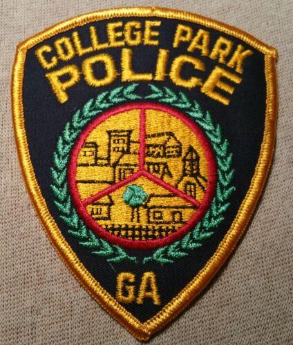 GA College Park Georgia Police Patch
