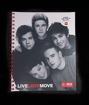 One Direction Notebook School Supplies Original Office Depot 1D NEW - One Direction School Supplies