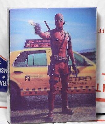 New Deadpool Blu Ray Lenti Slip Steelbook  Filmarena Fac 48 Region Free  Sealed