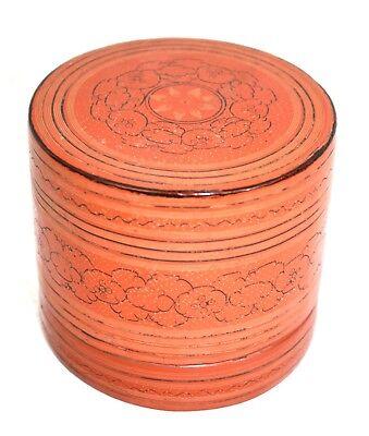 Vintage Burmese betel boxes - Kun-it - 1930-1960 Original lacquerware from Burma