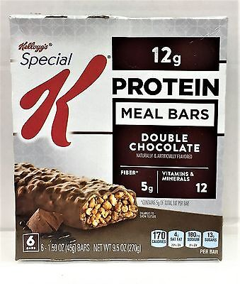 Kellogg's Special K Protein Double Chocolate Meal Bar 9.5 oz (Special K Double Chocolate Protein Meal Bar)