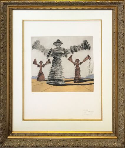 """Salvador Dali """"the Spinning Man"""" 