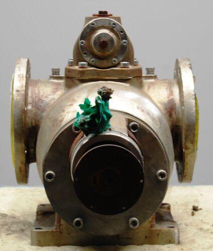 "Leistritz L2NG-126/180-AHOKI-G 3 Screw  Pump 8""x8"", 316 Stainless Steel, 331 GPM"