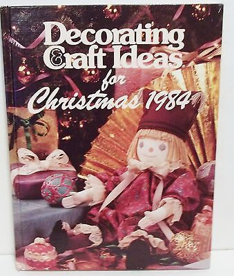 Decorating Craft Ideas For Christmas Hard Back 1984 Oxmoor House Recipes Gifts](Christmas Gift Craft Ideas)