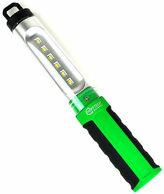 Akku Arbeitslampe Werkstattlampe Stablampe Handlampe Leuchte Lampe mit 6 LEDs.