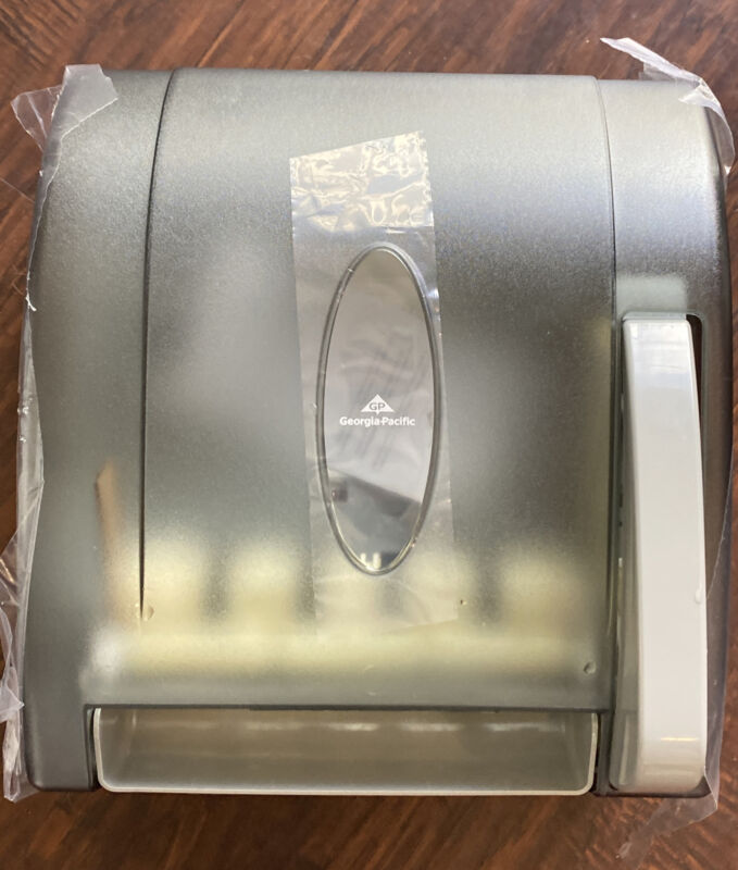 Georgia-Pacific paper towel dispenser  (54338) - Translucent Smoke.  Free Shippi