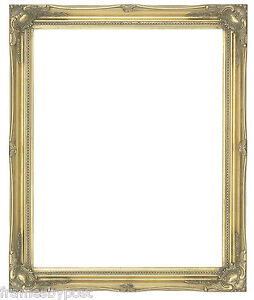 Swept Antique Effect Wooden Frames 2