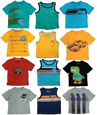 Tee Shirt Boys Toddler Baby Kids Children T Tank Top Short Sleeve Graphic Shirts - Kids Toddler T-shirt Tee