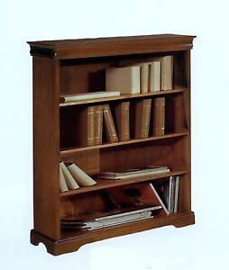 Mobile libreria in legno fin noce anche lacc xsoggiorno for Mobile libreria legno