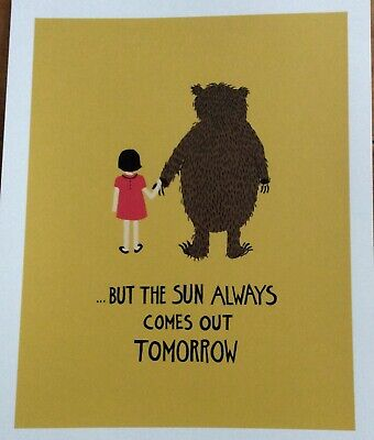 Rifle Paper Company Print - The Sun Always Comes Out Tomorrow