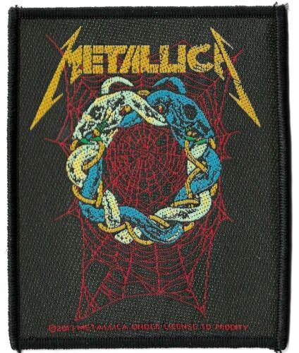 Metallica - Tangled Web Patch [UK Import] Standard 10-centimeter Heavy Metal