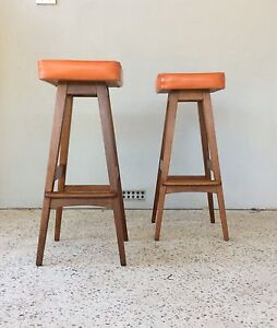 Mid Century Bar stools by Macrob Duncraig Joondalup Area Preview